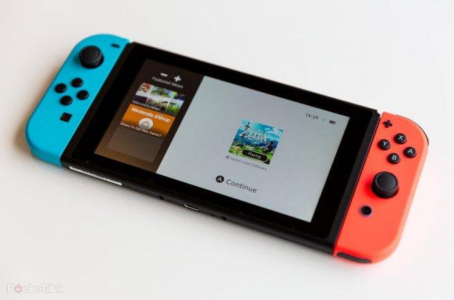 Aggiornamento per Nintendo Switch; firmware 12.0.1